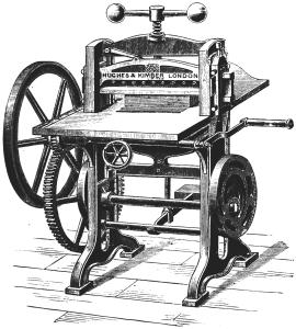 Art_of_Bookbinding_p097_Cutting_Machine